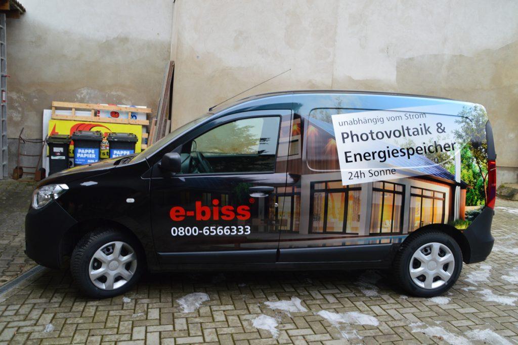 Autowerbung e-biss