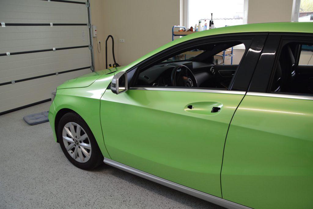 Mercedes Vollverklebung