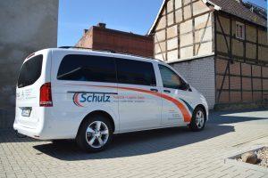 Autowerbung Schulz