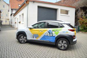 Autowerbung SCM Solar